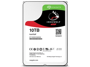 "Seagate Ironwolf 10TB 3.5"" NAS Drive - ST10000VN0004"