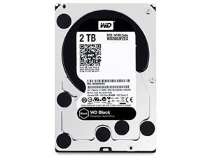 """Western Digital Black 2TB 3.5"""" Internal Hard Drive - WD2003FZEX"""