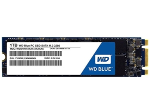 Western Digital WD Blue 1TB PC M.2 2280 SSD