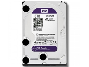 "Western Digital Purple 3TB 3.5"" Internal Hard Drive - WD30PURZ"