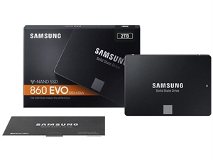 "Samsung 860 EVO 2TB 2.5"" SATA III SSD - MZ-76E2T0BW"
