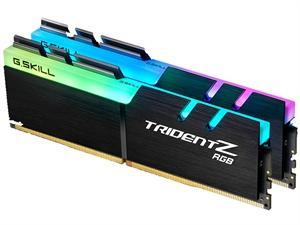 G.Skill Trident Z RGB 16GB (2x8GB) DDR4 3000MHz CL15 Desktop RAM