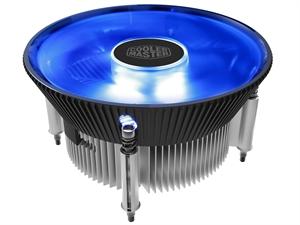 Cooler Master I70C 120mm Aluminum LGA115X CPU Cooler - Blue LED