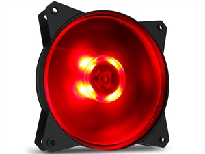 Cooler Master MasterFan Lite 120mm Case Fan - Red LED