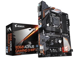 Gigabyte B360 AORUS Gaming 3 WIFI Intel 8th Gen Motherboard