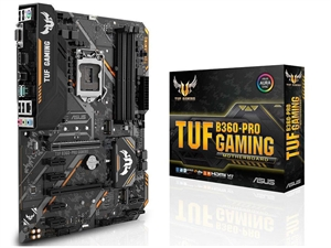 ASUS TUF B360-PRO Gaming Intel 8th Gen Motherboard