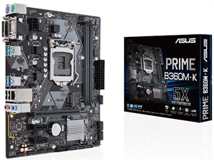 ASUS Prime B360M-K Intel 8th Gen Motherboard