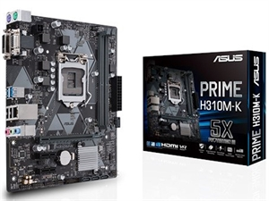 ASUS Prime H310M-K Intel 8th Gen Motherboard