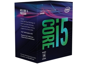 Intel Core i5 8600 3.1GHz 8th Gen CPU