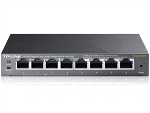 TP-Link SG108PE 8-Port Gigabit Easy Smart Switch with 4-Port PoE