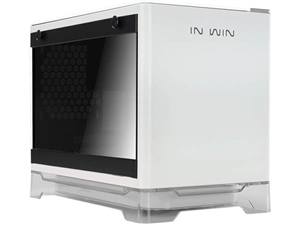 In Win A1 Mini-ITX Tower Case with 600W RGB Power Supply - White