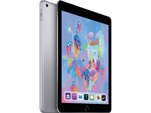 "Apple iPad 9.7"" (6th Gen. 2018) Tablet 32GB WiFi + Cellular - Space Grey"