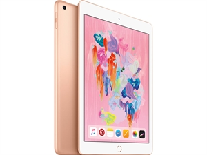 "Apple iPad 9.7"" (6th Gen. 2018) Tablet 128GB WiFi + Cellular - Gold"
