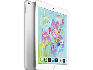 "Apple iPad 9.7"" (6th Gen. 2018) Tablet 32GB WiFi + Cellular - Silver"