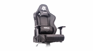 Karuza YX-802 Gaming Chair - Black/Black