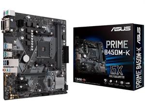 ASUS Prime B450M-K AM4 mATX Motherboard