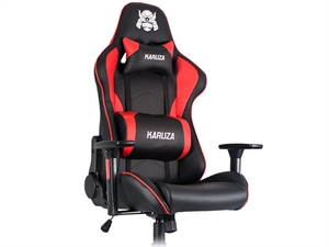 Karuza YX-1216 Gaming Chair - Black/Red