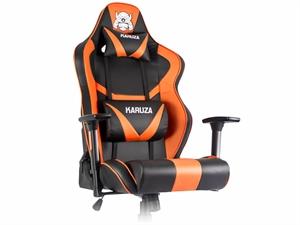 Karuza YX-802 Gaming Chair - Black/Orange