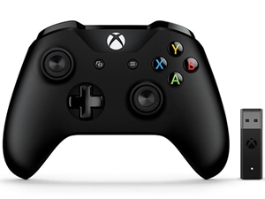 Microsoft Xbox Controller + Wireless Adapter Win10